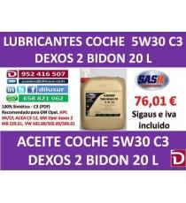 5W30 C3 DEXOS 20 L