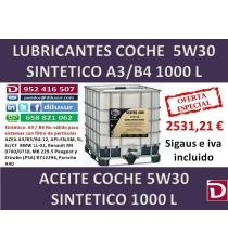 5W30 SINTETICO 1000 L
