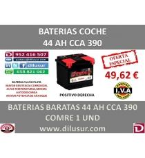 BATERIA 44 AH M3 CCA 390