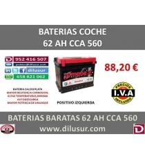 BATERIA 62 AH M3  IZ CCA 560