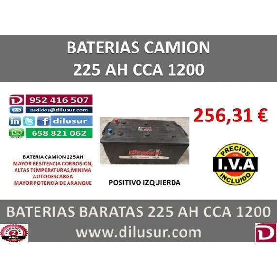 BATERIA 225 AH IZ M3 CCA 1200