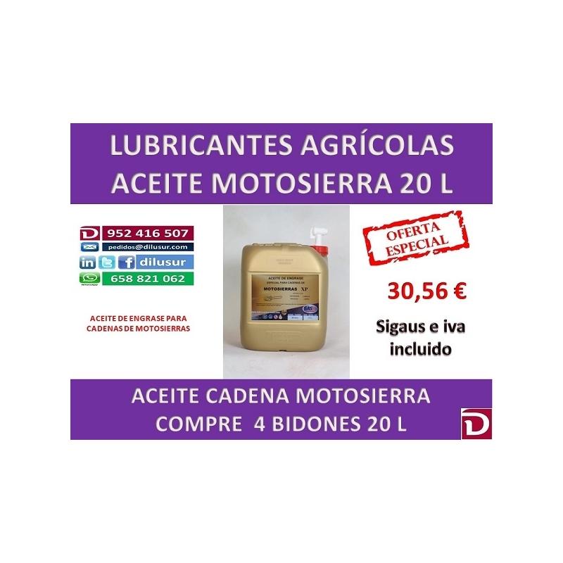 Aceite cadena motosierra 20 l aceite motosierra precio - Aceite cadena motosierra ...