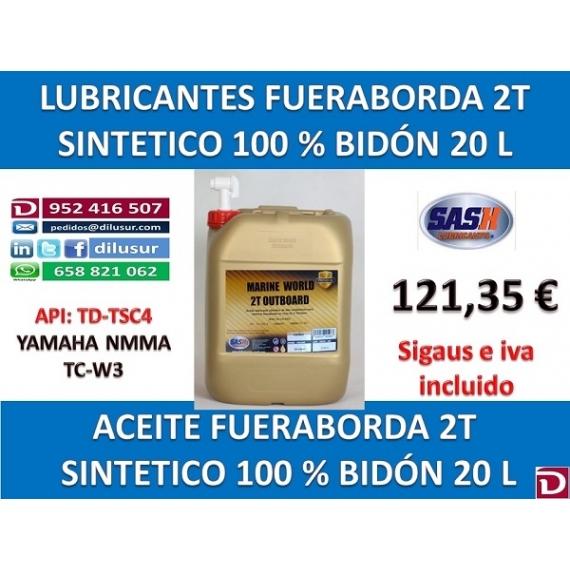 FUERABORDA 2T 20 L