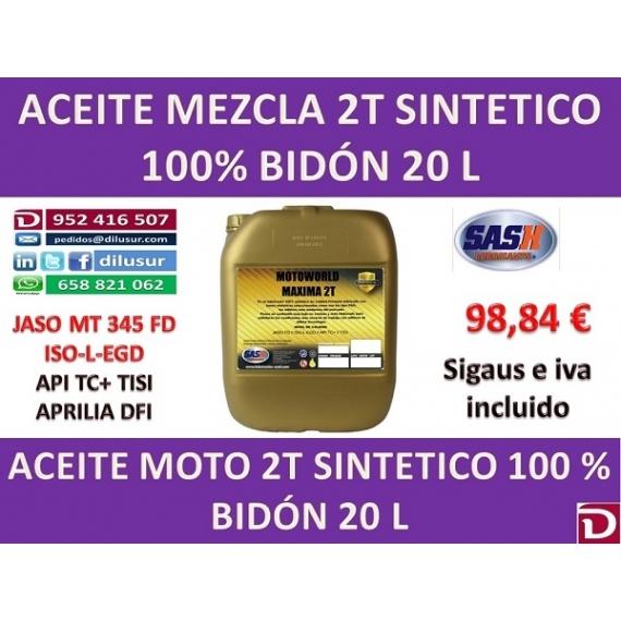 2T SINTETICO 20 L