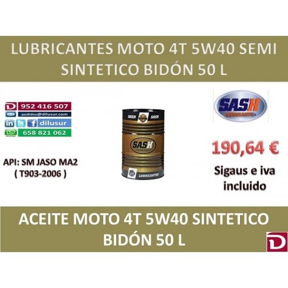 5W40 SEMI 4T 50 L
