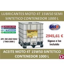 15W50 SEMI 4T 1000 L