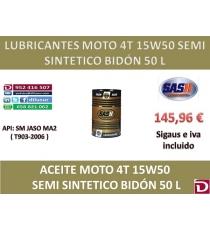 15W50 SEMI 4T 50 L