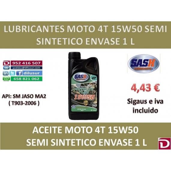 15W50 SEMI 4T 1 L