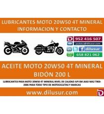 20W50 MOTO 200 L