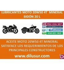20W50 MOTO 20 L
