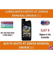20W50 MOTO 1 L