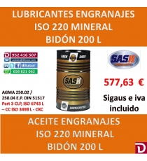 ACEITE ISO 220 200 L