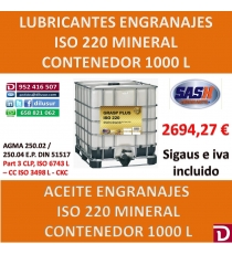 ACEITE ISO 220 1000 L