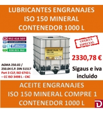 ACEITE ISO 150 1000 L