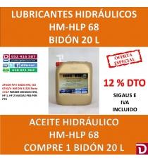 HIDRAULICO HLP 68 20 L