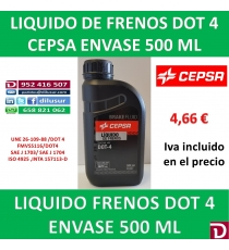 DOT 4 500 ML CEPSA