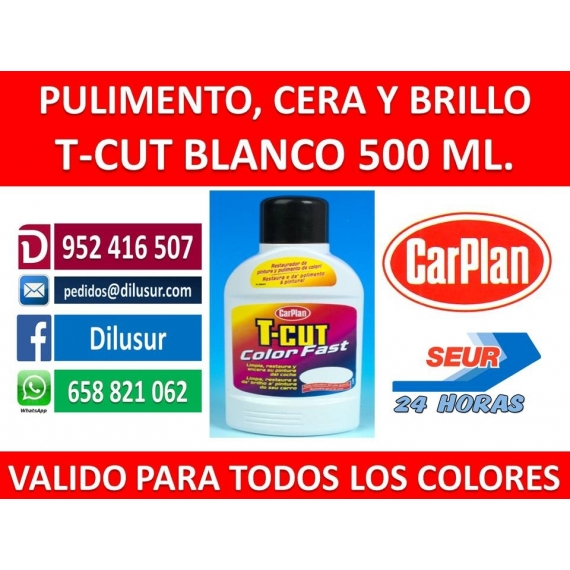 T-CUT COLOR FAST BLANCO 500 ML