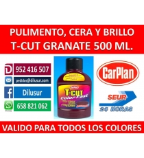T-CUT COLOR  FAST GRANATE  500 ML.