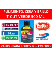 T-CUT COLOR FAST VERDE 500 ML