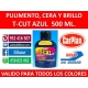 T-CUT COLOR FAST AZUL 500 ML.