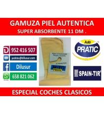 GAMUZA PIEL AUTENTICA   11,5 DM.