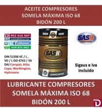 ISO 68 MÁXIMA 200 L