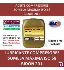 ISO 68 MÁXIMA 20 L