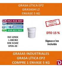 GRASA LÍTICA EP  5 KG