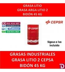 GRASA LITIO 2 ARGA 45 KG.