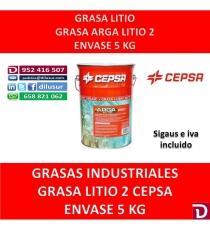 GRASA LITIO 2 ARGA 5 KG.