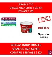 GRASA LITIO 2 ARGA 2 KG.