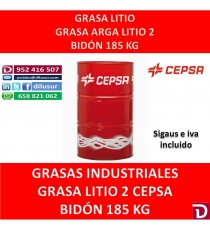 GRASA LITIO 2 ARGA 185 KG.