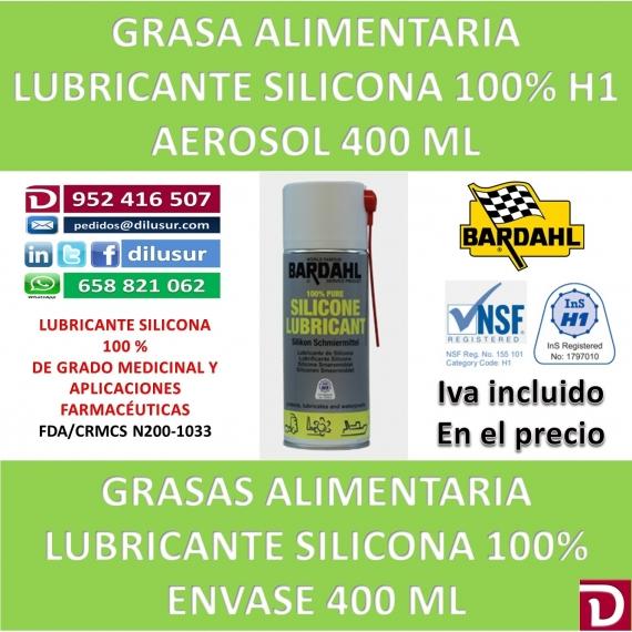 LUBRICANTE DE SILICONA 100% 400 ML