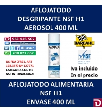 AFLOJATODO NSF H1 400 ML.