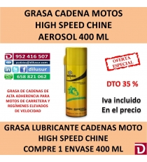 HIGH SPEED CHAINE 400 ML.