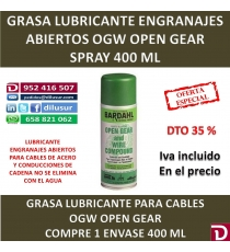 OGW OPEN GEAR 400 ML