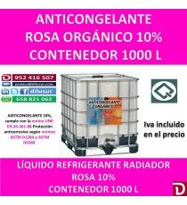 ANTICONGELANTE ROSA ORGANICO 10% 1000 L