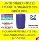 ANTICONGELANTE AMARILLO ORGÁNICO G12 50% 200 L