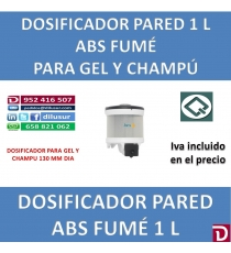 DOSIFICADOR GEL 1 L 130 MM