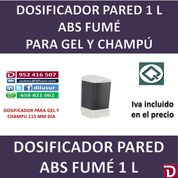 DOSIFICADOR GEL 1 L 115 MM
