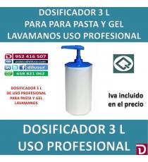 DOSIFICADOR GEL 3 L