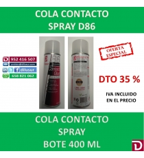 COLA CONTACTO D86 400 ML.