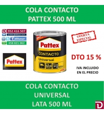 COLA CONTACTO PATTEX 500 ML