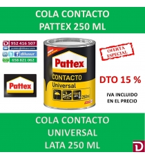 COLA CONTACTO PATTEX 250 ML