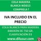 COLA MADERA BLANCA D3 BIBERÓN 750g