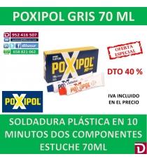 POXIPOL GRIS 70 ML