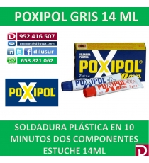 POXIPOL GRIS 14 ML