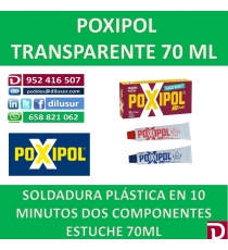 POXIPOL TRANSPARENTE 70 ML