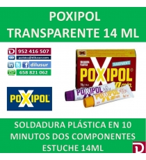 POXIPOL TRANSPARENTE 14 ML