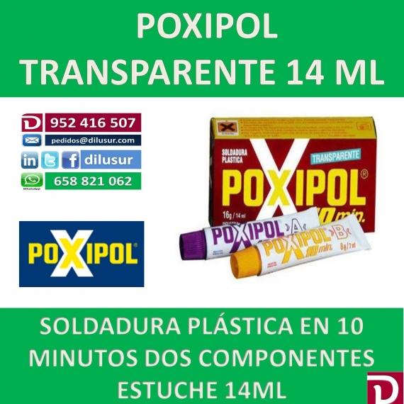 POXIPOL TRANSPARENTE 14 ML